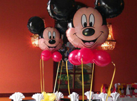 Decor baloane mickey mouse