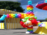 Clown baloane botez